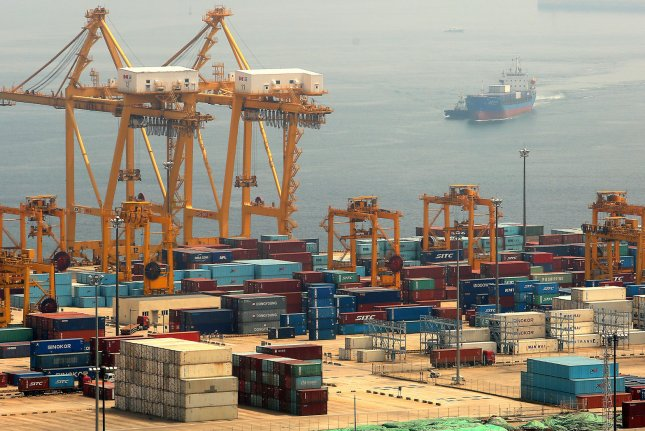 The Chinese port of Dalian is receiving ships from North Korea, according to a South Korean press report Tuesday. File Photo by Stephen Shaver/UPI
