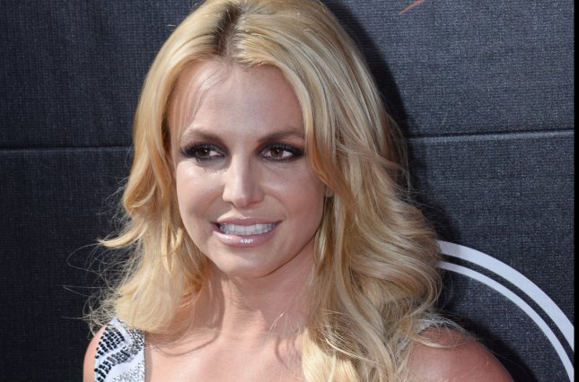 Singer Britney Spears attends the ESPY Awards at Microsoft Theater in Los Angeles on July 15, 2015. Photo by Jim Ruymen/UPI