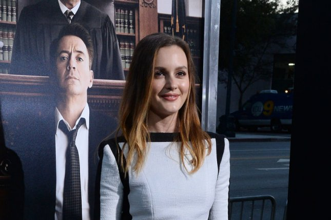 Leighton Meester at the Los Angeles premiere of 'The Judge' in 2014. File Photo by Jim Ruymen/UPI
