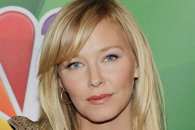 Kelli Giddish at the NBC Upfront on May 13, 2013. The actress and husband Lawrence Faulborn welcomed their first child this week. File photo by John Angelillo/UPI