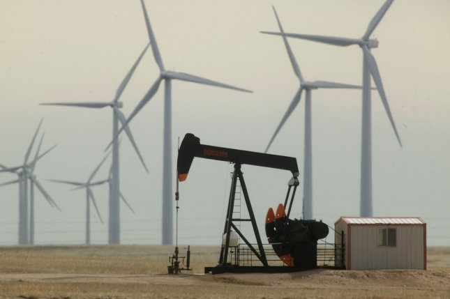 The economy in Texas is facing pressure from lower oil prices, though it's better equipped to handle the crisis, state economists say. File Photo by Gary C. Caskey/UPI