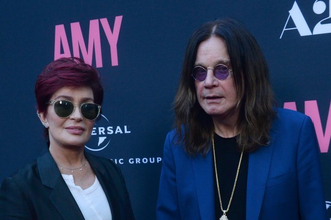 Sharon Osbourne (L) and Ozzy Osbourne at the Los Angeles premiere of Amy on June 25, 2015. The couple recently split after 33 years of marriage. File Photo by Jim Ruymen/UPI
