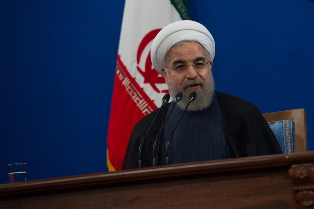 Iran's President Hassan Rouhani says his country can sell as much crude oil as it deems fit. File photo by Ali Mohammadi/UPI