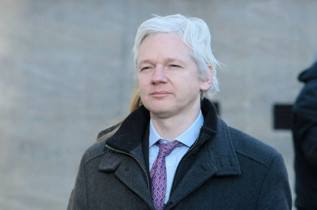 British and Ecuadorean leaders are holding talks on the fate of Wikileaks founder Julian Assange who may soon have to leave an embassy in Britain after staying there six years. File photo by Hugo Philpott/UPI