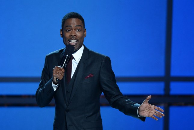 Comedian and actor Chris Rock will host the debut of the 46th season of Saturday Night Live. UPI/Jim Ruymen
