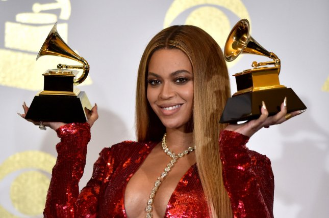 Beyonce has nine Grammy nominations for the now-postponed 2021 award show.File Photo by Christine Chew/UPI