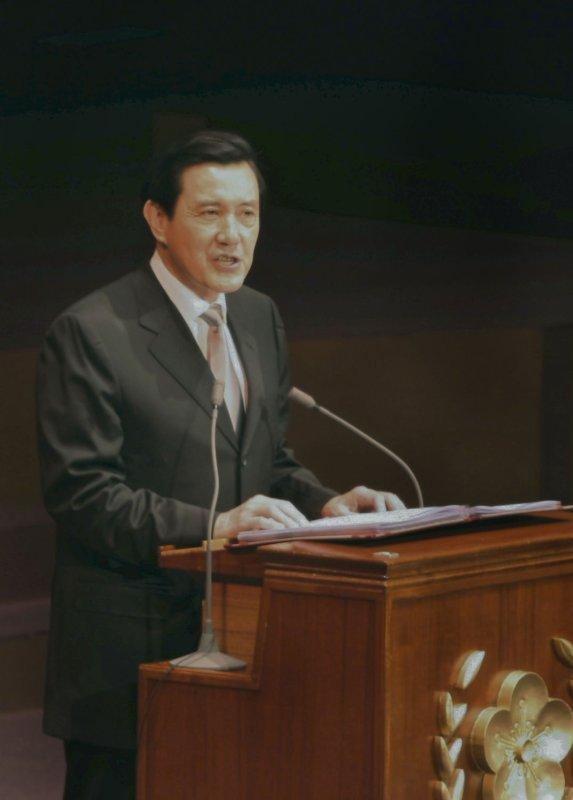 Taiwan's President Ma Ying-jeou (UPI Photo/SNP/Kouji Fukagawa)