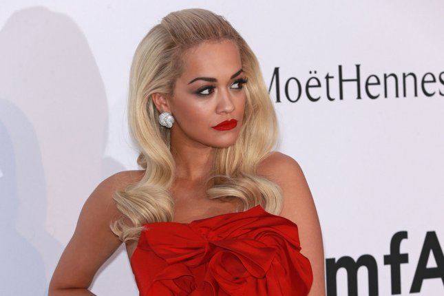 Rita Ora arrives at the 22nd amfAR Cinema Against AIDS 2015 gala at the Hotel du Cap-Eden-Roc in Antibes, France on May 21, 2015. Photo by David Silpa/UPI