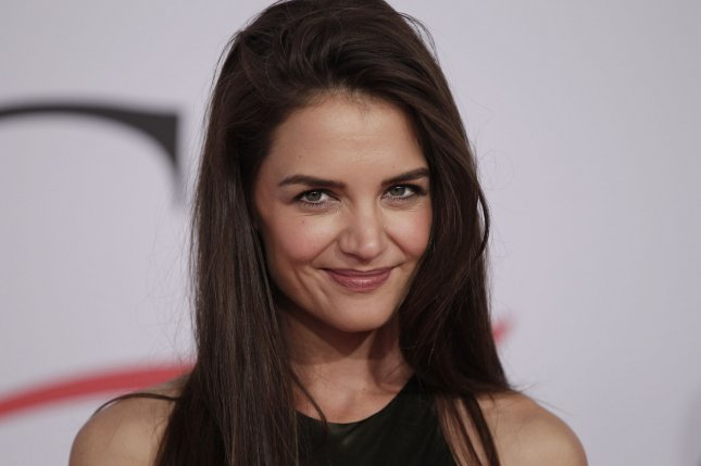Katie Holmes arrives on the red carpet at the 2015 CFDA Fashion Awards at Alice Tully Hall at Lincoln Center in New York City on June 1, 2015. File Photo by John Angelillo/UPI