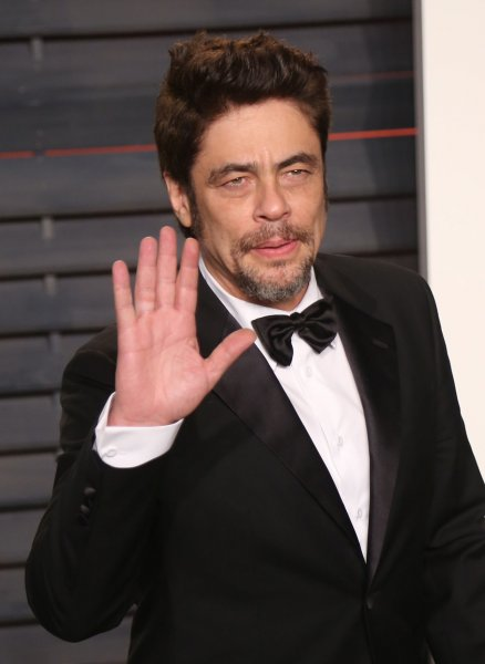 Benicio Del Toro attends the 2016 Vanity Fair Oscar Party at the Wallis Annenberg Center for the Performing Arts in Beverly Hills on February 28, 2016. The actor is to star in the new Showtime series Escape at Dannemora. File Photo by David Silpa/UPI