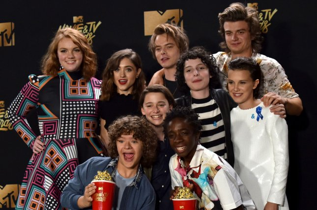 Netflix is set to premiere a Stranger Things aftershow following the premiere of Season 2. File Photo by Christine Chew/UPI