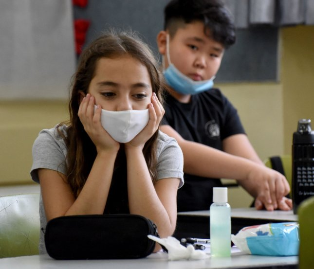 U.N. Secretary-General Antonio Guterres on Tuesday said more than 1 billion students were affected by the coronavirus pandemic in July. Photo by Debbie Hill/UPI