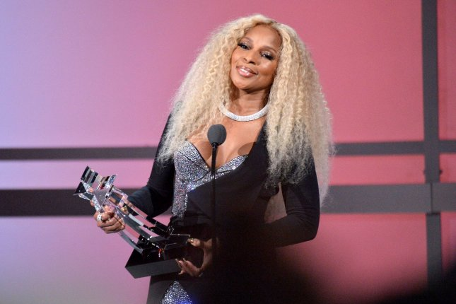 Mary J. Blige appears at the 19th annual BET Awards at the Microsoft Theater in Los Angeles on June 23, 2019. The actor/musician turns 50 on January 11. File Photo by Jim Ruymen/UPI
