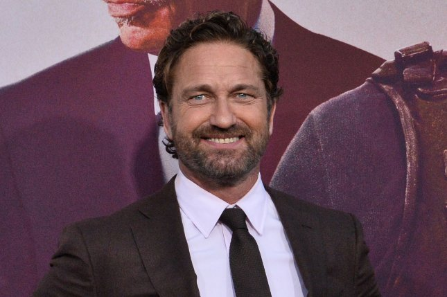Greenland star Gerard Butler is returning for a sequel to the film, along with Morena Baccarin. File Photo by Jim Ruymen/UPI