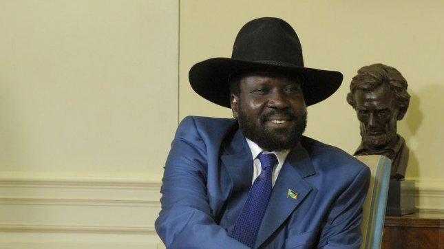 Salva Kiir in 2009. (UPI Photo/Roger L. Wollenberg)