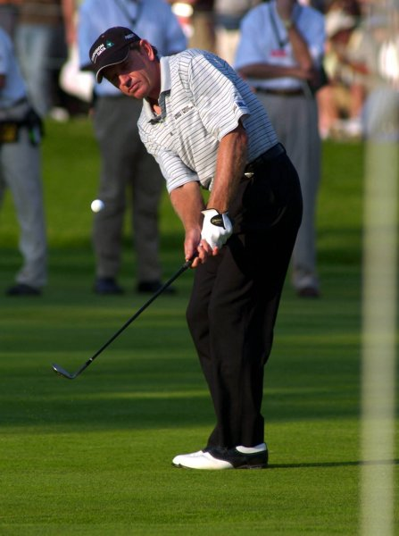 Nick Price, shown at the U.S. Open June 15, 2003. (/Mark Cowan/UPI)