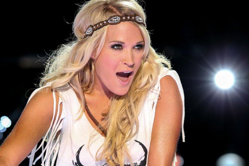 Carrie Underwood. UPI/Terry Wyatt