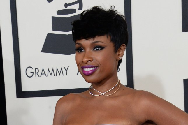 Jennifer Hudson arrives for the 57th Grammy Awards at Staples Center in Los Angeles on February 8, 2015. Photo by Jim Ruymen/UPI