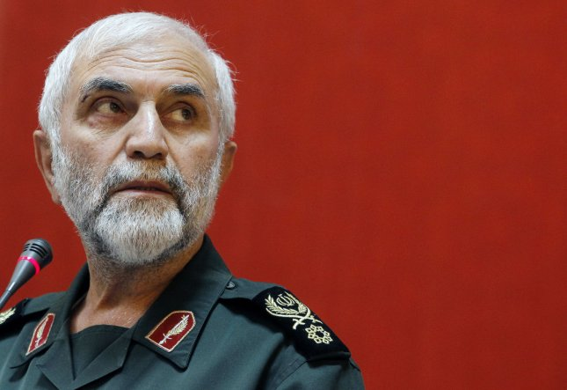 Gen. Hussein Hamedani of the Iranian Revolutionary Guard was killed near Aleppo, Syria. File photo by Maryam Rahmanian/ UPI