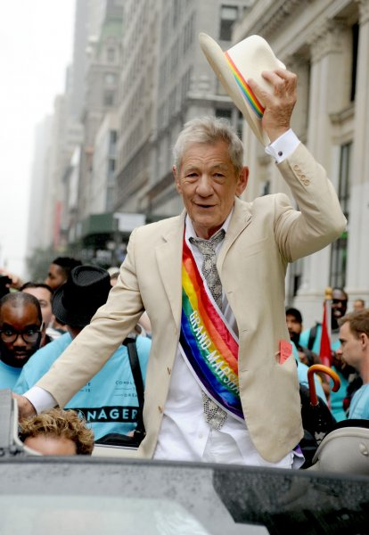 Sir Ian McKellen said the Oscars current problem with diversity isn't just about about people of color, it's about gays too. File Photo by Dennis Van Tine/UPI
