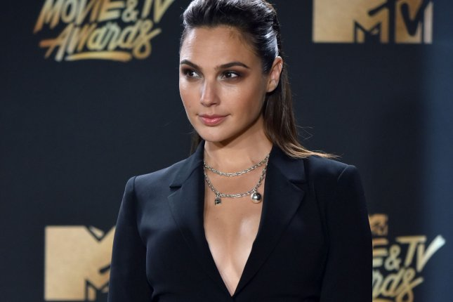 Actress Gal Gadot attends the MTV Movie & TV Awards at the Shrine Auditorium in Los Angeles on May 7. It will be the 26th edition of the awards, and will for the first time present honors for work in television as well as cinema. Photo by Christine Chew/UPI