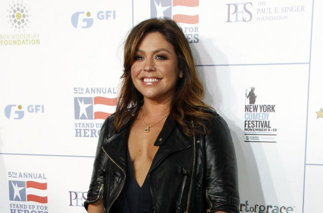 Rachael Ray arrives for the Stand Up For Heroes Benefit at the Beacon Theatre in New York on November 9, 2011. She turns 50 on August 25. File Photo by Laura Cavanaugh/UPI