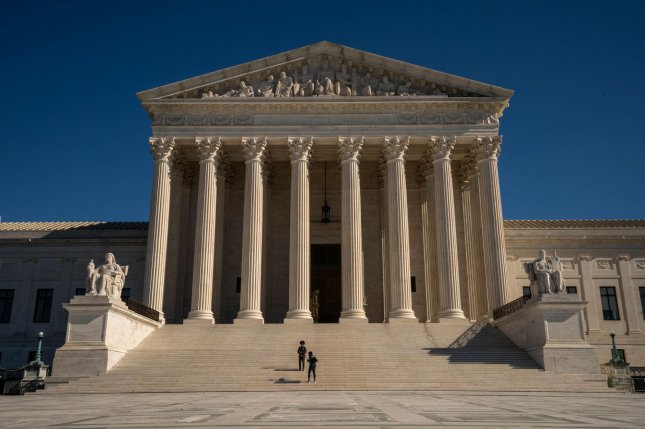 The Justice Department said that though it was prepared for the December 2 hearing, it would not fight the House judiciary's request to drop it from the Supreme Court calendar. File Photo by Ken Cedeno/UPI