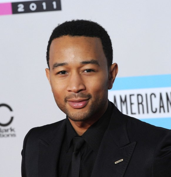 Singer John Legend arrives at the 39th American Music Awards at Nokia Theatre in Los Angeles on November 20, 2011. UPI/Jim Ruymen