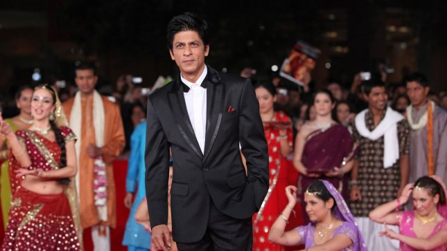 Shah Rukh Khan arrives on the red carpet before a screening of the film My Name is Kahn during the 5th Rome International Film Festival in Rome on October 31, 2010. UPI/David Silpa