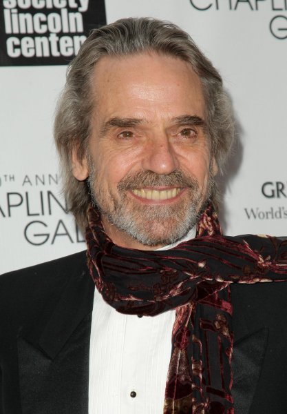 Jeremy Irons arrives at the 40th Annual Chaplin Award Gala where Barbra Streisand is being honored at Lincoln Center on April 22, 2013 in New York City. UPI/Monika Graff