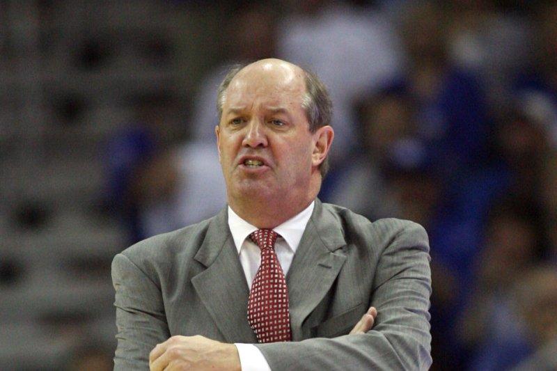 Former Vanderbilt Commodores head coach Kevin Stallings. UPI/A.J. Sisco