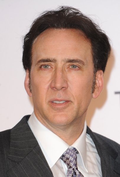 Nicolas Cage at the London premiere of Frozen Ground on July 17, 2013. File Photo by Paul Treadway/UPI