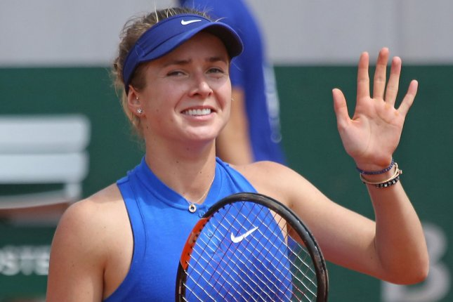 Elina Svitolina of Ukraine. Photo by David Silpa/UPI