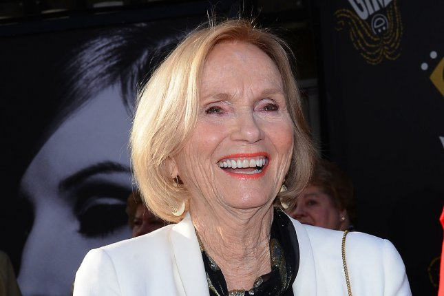Eva Marie Saint arrives for the world premiere of the 45th Anniversary Restoration of Funny Girl at the Opening Night Gala of the 2013 TCM Classic Film Festival at the TCL Chinese Theatre in the Hollywood section in Los Angeles on April 25, 2013. She turns 93 on Tuesday. File Photo by Jim Ruymen/UPI
