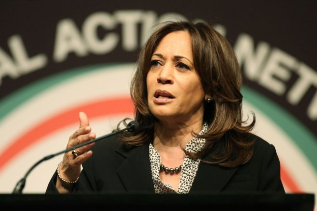 Democratic candidate Kamala Harris unveiled her plan for Dreamers and other immigrants. File Photo by Monika Graff/UPI