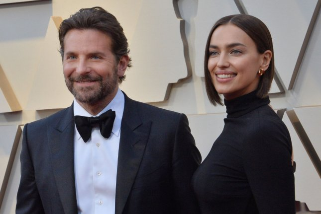 Irina Shayk (R) discussed her split from A Star is Born actor Bradley Cooper and her life as a single mother in the March issue of British Vogue. File Photo by Jim Ruymen/UPI