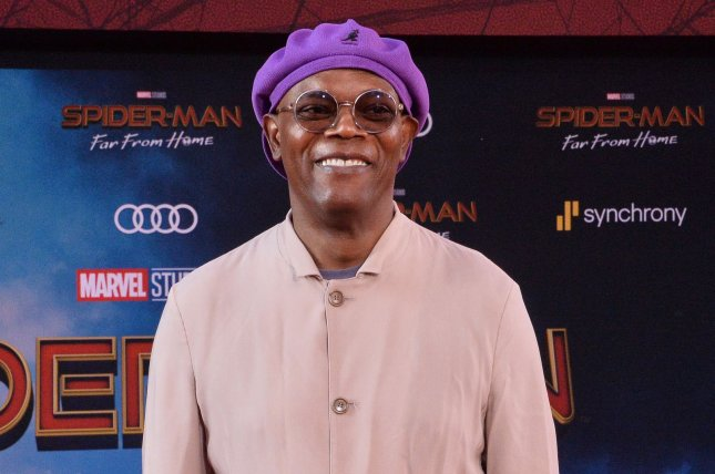 Samuel L. Jackson recalled his friendship with Denzel Washington, Wesley Snipes and other actors on The Late Show with Stephen Colbert. File Photo by Jim Ruymen/UPI