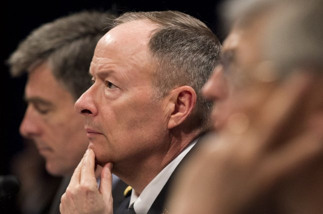 Army Gen. Keith Alexander, Director of the National Security Agency, testifies during a House Select Intelligence Committee hearing on NSA programs designed to protect Americans, on Capitol Hill in Washington, June 18, 2013. UPI/Kevin Dietsch