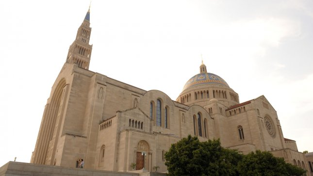The Basilica of the National Shrine of the Immaculate Conception is seen in Washington, D.C. (UPI Photo/Roger L. Wollenberg)