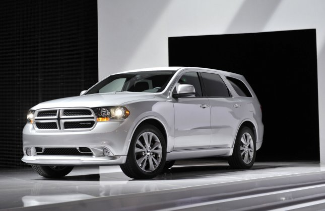 The Dodge Durango, pictured, is among several Fiat Chrysler models under investigation by the NHTSA for possible transmission issues, after 43 owners complained of unintended vehicle rollaways after transmission were put in the park position. Photo by Brian Kersey/UPI