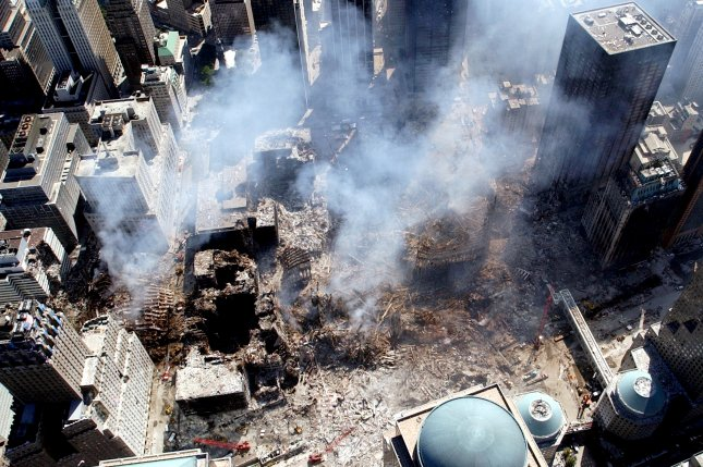 A recent study has found that children exposed to chemicals when the World Trade Center collapsed on Sept. 11, 2001 are showing early signs of an increased risk of heart disease. File photo by Eric J. Tilford/UPI