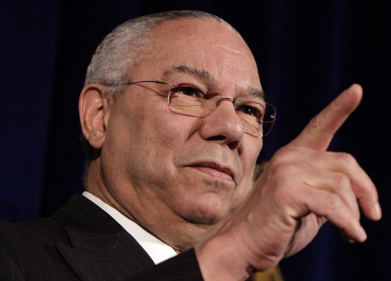 Former U.S. Secretary of State Colin Powell (UPI Photo/Yuri Gripas)