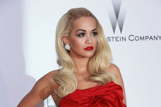 Rita Ora at the amfAR Cinema Against AIDS gala on May 21. The singer and boyfriend Ricky Hil reportedly split. File photo by David Silpa/UPI