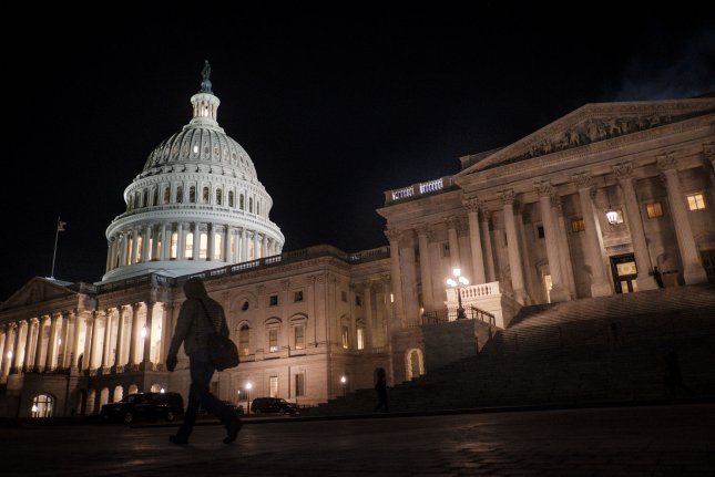 The House passed a stopgap spending bill Tuesday that the Senate will likely either reject or amend, meaning the House will have to address the legislation again. Photo by Pete Marovich/UPI