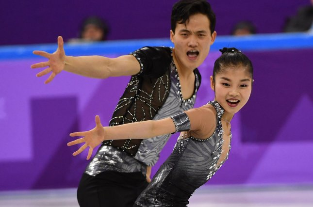 North Korean figure skaters revel in starring role on Olympic ice