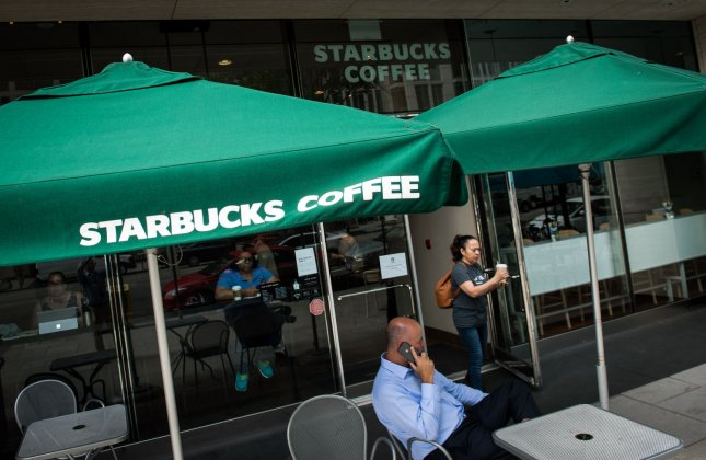 Starbucks said it plans to open 2,100 stores in the fiscal year 2019, the company announced in it's fourth-quarter earnings report. Photo by Kevin Dietsch/UPI