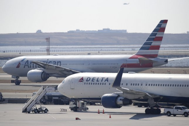 Planes are seen on the tarmac at JFK International Airport in New York City. File Photo by John Angelillo/UPI