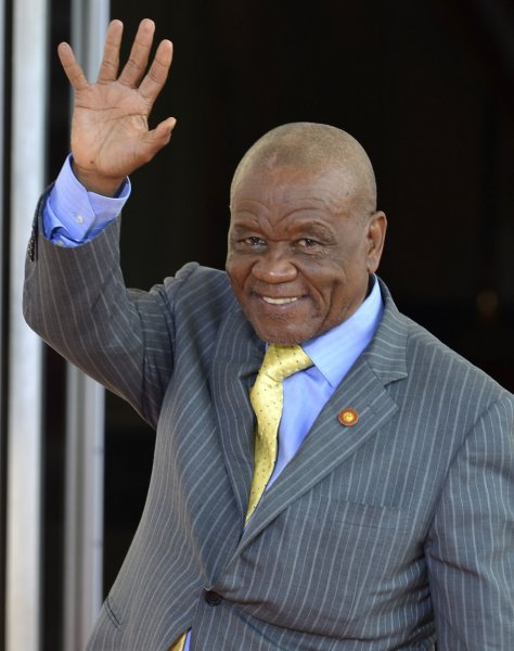 Lesotho's prime minister, Thomas Thabane, announced plans to retire last month. File Photo by Mike Theiler/UPI