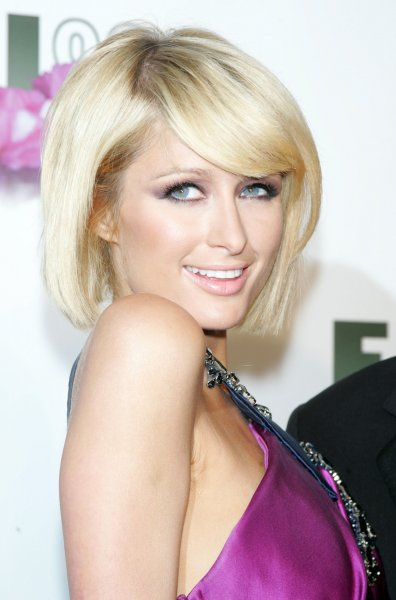 Paris Hilton arrives for the Fragrance Foundation 2009 FiFi Awards at the Downtown Armory in New York on May 27, 2009. (UPI Photo/Laura Cavanaugh)