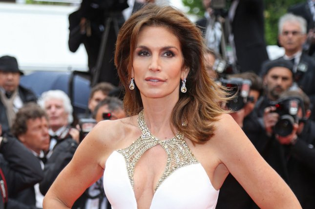 Cindy Crawford arrives on the red carpet before the screening of the film The Great Gatsby during opening night of the 66th annual Cannes International Film Festival in Cannes, France on May 15, 2013. File Photo by David Silpa/UPI